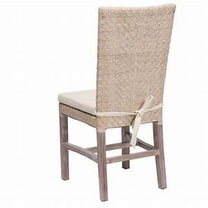 Chaise En Rotin : chaises en rotin blanche ellen lot de 6 chaises en rotin blanc chaise en osier blanc rotin ~ Preciouscoupons.com Idées de Décoration