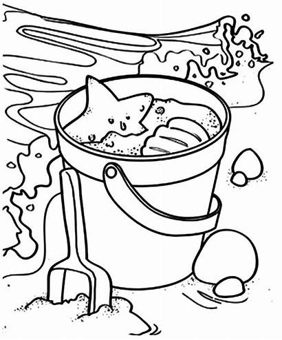 Coloring Pages Park Water Sand Beach Yellowstone