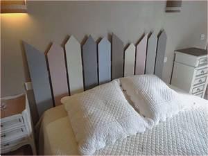 Fabriquer Tete De Lit Capitonnée : luxe fabriquer une tete de lit en bois pour alternative ~ Nature-et-papiers.com Idées de Décoration