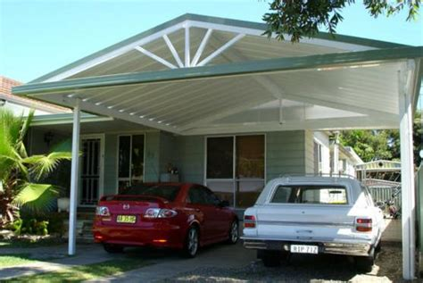 double carport cost hipagescomau