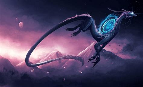 Cool Dragon Backgrounds For Computers That Move Mythical Creatures Wallpapers Wallpaper Cave