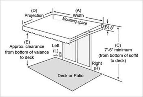 sunsetter awnings dimensions bathroom vanity