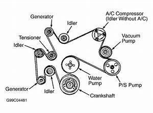 2004 Ford Explorer 4 6l Serpentine Belt Diagram