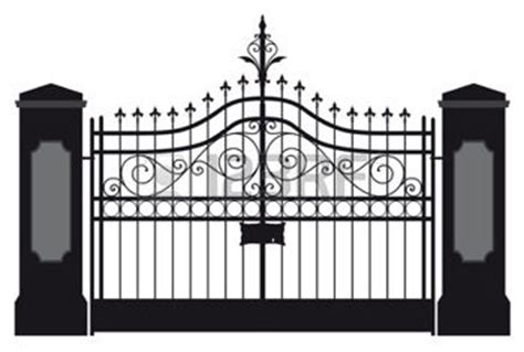 front gate clipart   cliparts  images  clipground
