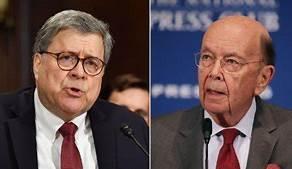 DOJ says it won't prosecute Barr, Ross after criminal contempt vote…