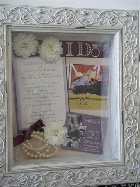 images  wedding shadow boxes  pinterest