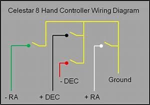 Celestar 8 Hand Controller Schematic