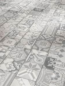 Klick Vinyl Auf Fliesen : klick vinyl trendoptik ornamente bis zu 50 sparen ~ Frokenaadalensverden.com Haus und Dekorationen