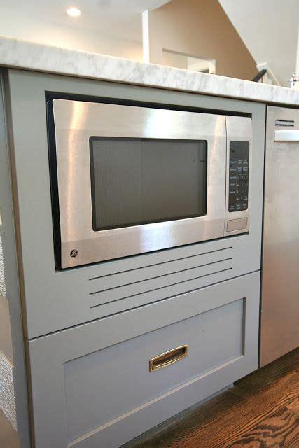 fake  built  microwave designdump kitchen