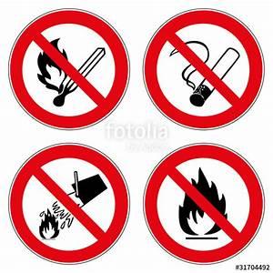 Offenes Feuer Auf Eigenem Grundstück : verbotszeichen set rauchen feuer wasser l schen verboten ~ Lizthompson.info Haus und Dekorationen
