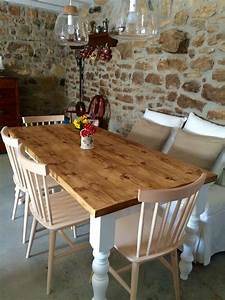 Rustic, Farmhouse, Kitchen, Table, Reclaimed, Country, Cottage