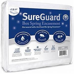 king size sureguard box spring encasement pack 100 With best box spring encasement