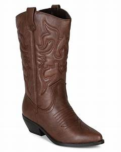 soda reno s leatherette new women embroidered pointy toe With cowboy boots reno