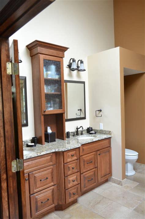 master bath vanity storage tower