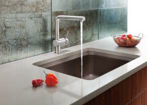 kitchen sinks and faucets designs the blanco silgranit ii vision designer kitchen sink offers luxurious usability at great