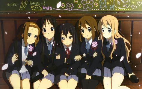 school fun anime characters wallpaper