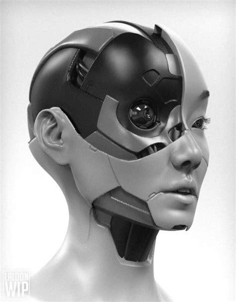 Rhubarbes | gynoids in 2019 | Robot concept art, Cyberpunk