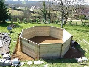 montage piscine hors sol les perrin With attractive comment poser des margelles de piscine 6 terrasse pour poser une piscine