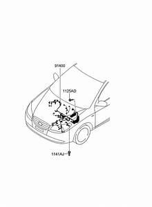 2010 Hyundai Elantra Control Wiring