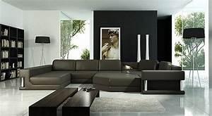 Canapé Italien Design : photos canap d 39 angle cuir design italien ~ Preciouscoupons.com Idées de Décoration