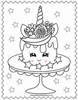 Unicorn Coloring Pages Printable Colouring Sweet Cake Super Sheets Para Hearts Cream Ice Adult Colorear Thepurplepumpkinblog Rainbow Printables Stars Pintar sketch template