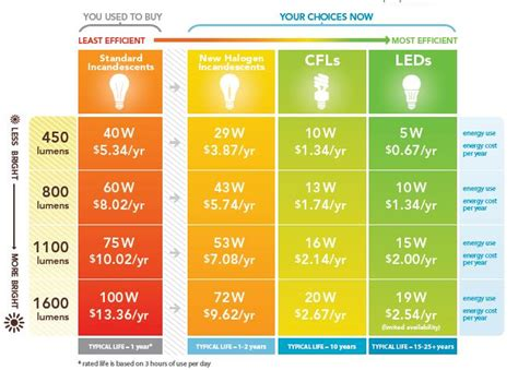 your guide to more efficient and money saving light
