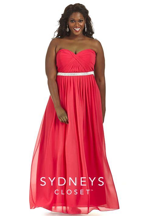 sydneys closet sc7168 plus size chiffon prom gown