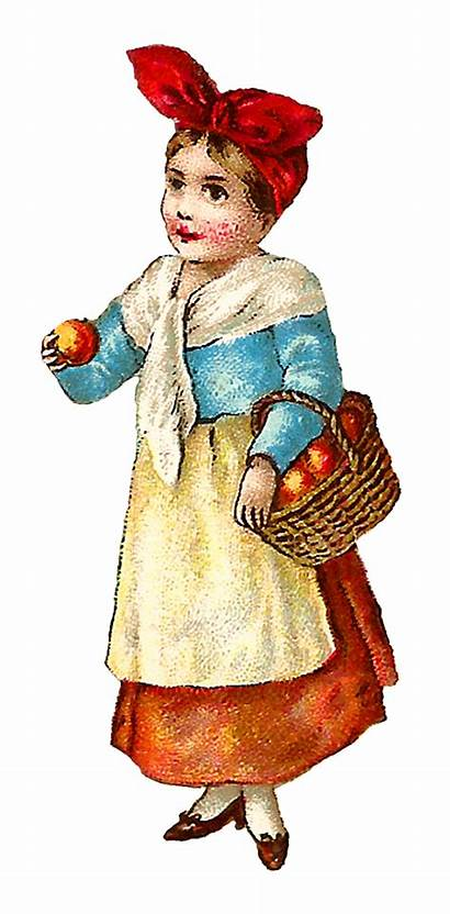 Victorian Farmer Clip Illustration Clipart Illustrations Apple