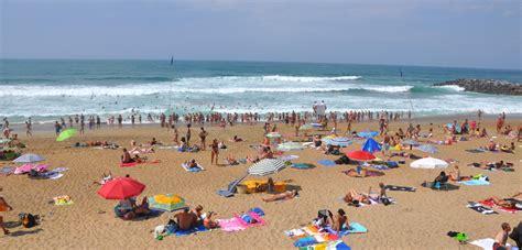 plage des sables d 39 or à anglet anglet