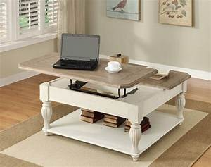 Coffee Table Top 10 Square Large Wood And White Coffee