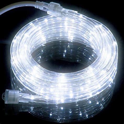 18ft cool white led rope light kit for indoor