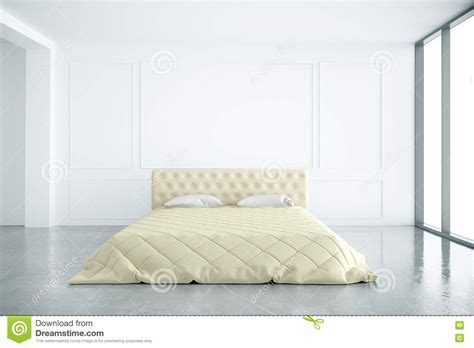 Bedroom Interior Front Stock Illustration   Image: 72548536