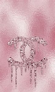 Pink Chanel Logo Wallpaper for iPhone and Android | Pink ...