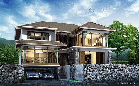 Modern Thai Home Inspiration : Re-h3-50201.04 แบบบ้าน 3 ชั้น 3 ห้องนอน 3 ห้องน้ำ พื้นที่