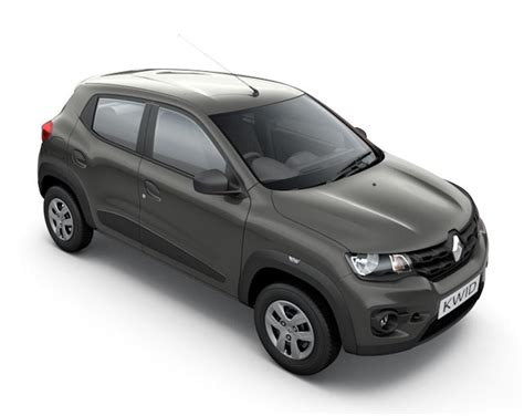 Renault Kwid Colors Red White Silver Grey And Bronze