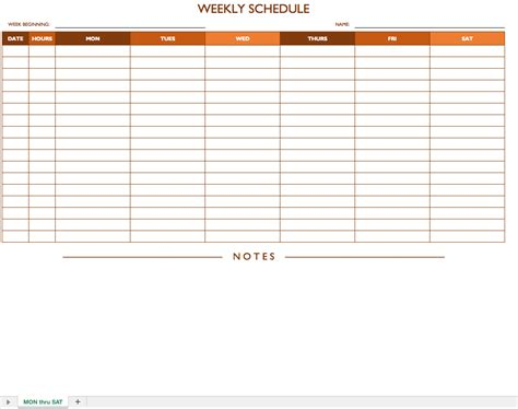 high school master schedule template excel