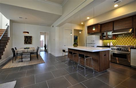 modern kitchen floor tile midcentury modern san antonio kitchen installation 7704