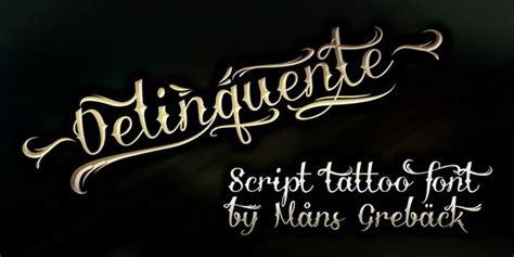 cool cursive tattoo fonts hative