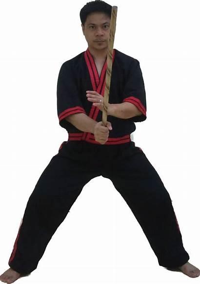 Stance Straddle Stances Kinds Martial Arnis Figure