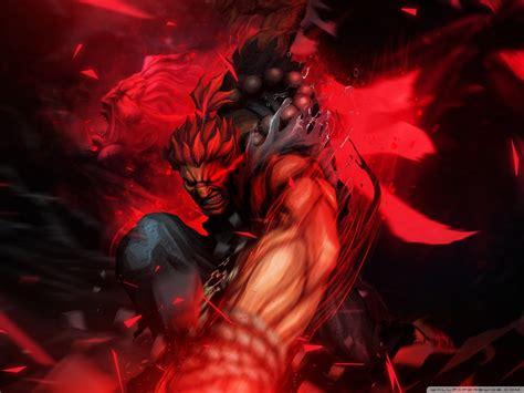 Street Fighter X Tekken Akuma 4k Hd Desktop Wallpaper