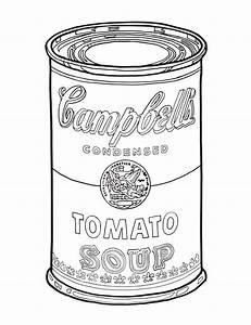 Black And White Image Of Campbell Soup Can Pictures to Pin ...
