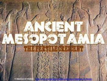 Civilization, Mesopotamia Lesson And The Persians On Pinterest