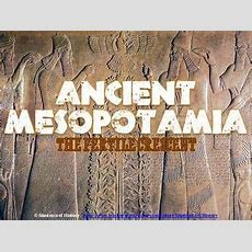 Ancient Civilizations Of Mesopotamia Powerpoint  Tpt Social Studies Lessons