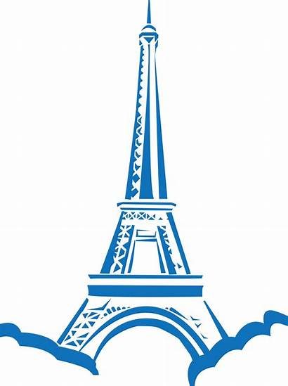 Paris Tower Eiffel Clipart Taj Mahal Landmarks