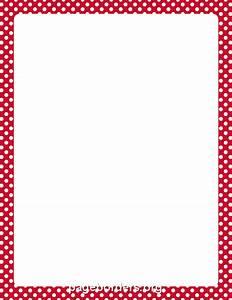Red Border Clip Art (62+)