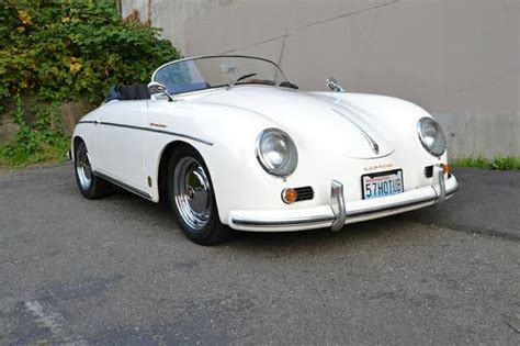 old porsche speedster white 1957 porsche 356 speedster buy classic volks