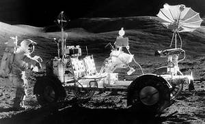 Lunar Rover Seen From Earth (page 2) - Pics about space