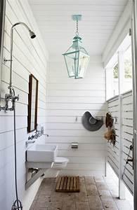 la douche de jardin pour les amoureux de la nature With salle de bain design avec arbre décoratif jardin