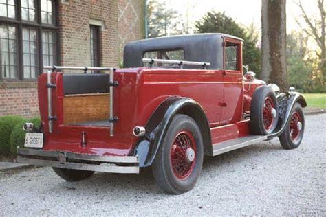Custom 1920s Rolls-royce Pickup Truck