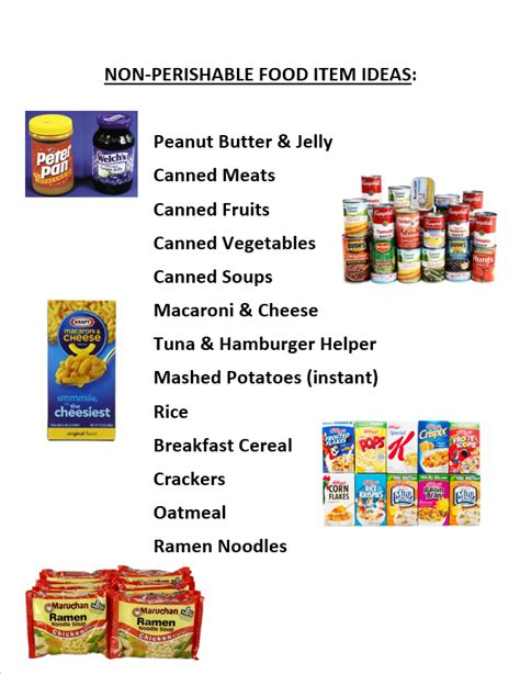 attention      food drive   community